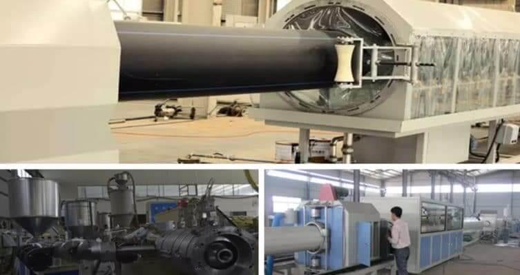 HDPE PVC 管材生产线