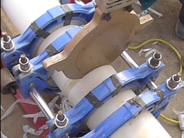 PERT地暖管热熔对接焊接